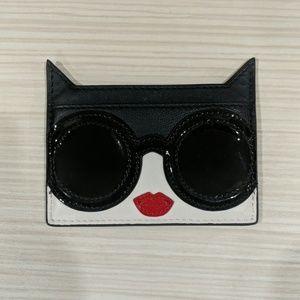 Alice + Olivia leather card holder EUC